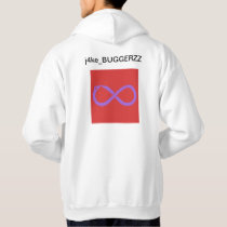 BUGGERZZ white hoodie