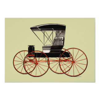 Buggies and Carriages Invitations