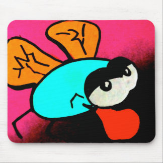 Buggin boxing mouse pad
