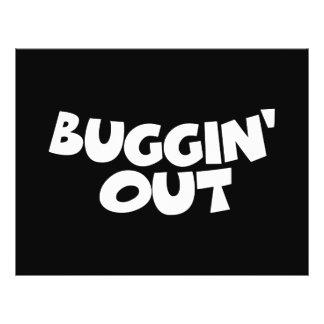 """Buggin hacia fuera folleto 8.5"""" x 11"""""""