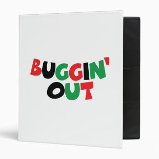 Buggin' Out 3 Ring Binder