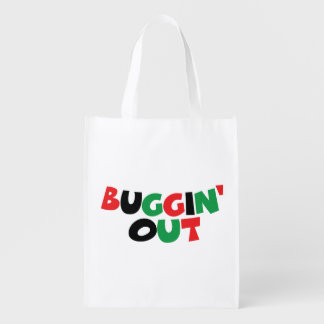 Buggin' Out Grocery Bag
