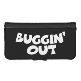 Buggin' Out iPhone SE/5/5s Wallet Case