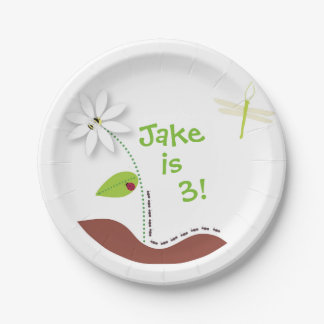 Buggin' Out Paper Plate