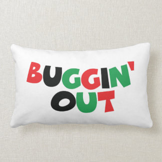 Buggin' Out Pillow