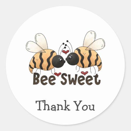 Buggin usted también · Dulce de la abeja Etiquetas