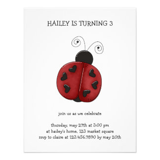 Buggin You Again · Ladybug Personalized Announcement