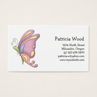 Buggin' You · Butterfly Business Card