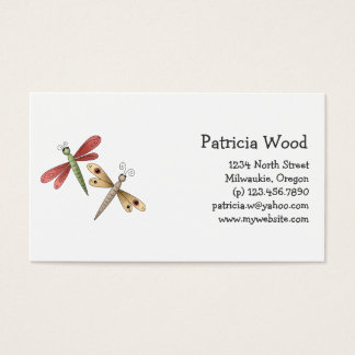 Buggin' You · Dragonflies Business Card