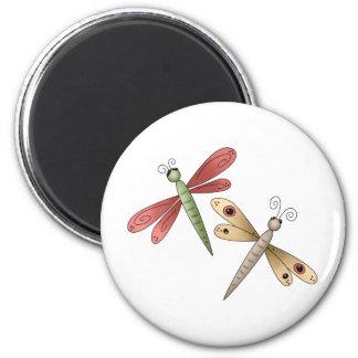 Buggin' You · Dragonflies Refrigerator Magnets