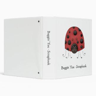 Buggin' You · Ladybug 3 Ring Binder