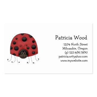 Buggin You · Ladybug Business Card Templates