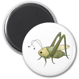 Buggin' You Too · Grasshopper 2 Inch Round Magnet