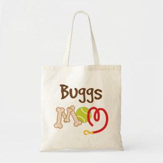 Buggs Dog Breed Mom Gift Tote Bag