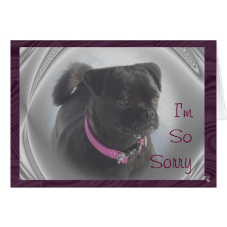 Buggs Dog Susie-customize any occasion Card