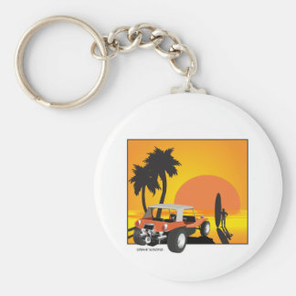 Buggy and Surfer Keychain