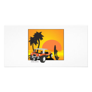 Buggy and Surfer Photo Cards