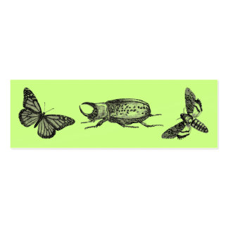 Buggy Bookmark Double-Sided Mini Business Cards (Pack Of 20)