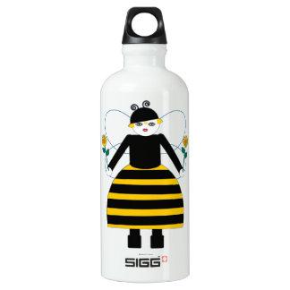 Buggy Martzkins Honey Bee Aluminum Water Bottle