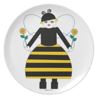 Buggy Martzkins Honey Bee Plate