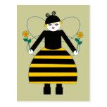 Buggy Martzkins Honey Bee Postcard
