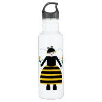 Buggy Martzkins Honey Bee Stainless Steel Water Bottle