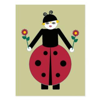 Buggy Martzkins Ladybug Postcard