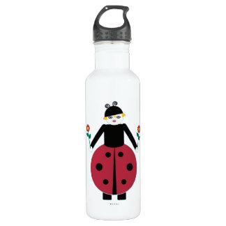 Buggy Martzkins Ladybug Stainless Steel Water Bottle