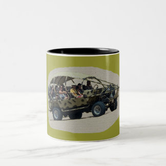 buggy - the image is artistic effects Two-Tone coffee mug