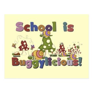 Buggylicious School Tshirts and Gifts Postcard