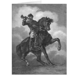 Bugle Call 1863 Card