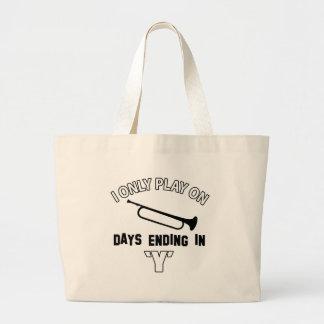 bugle design bags