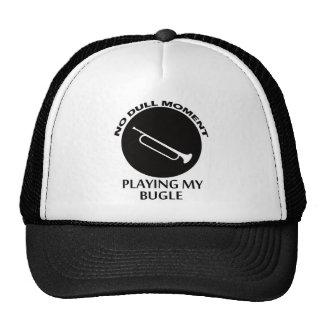 bugle designs trucker hat
