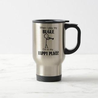 Bugle Happy Place Travel Mug