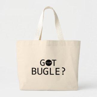 BUGLE music designs Tote Bag