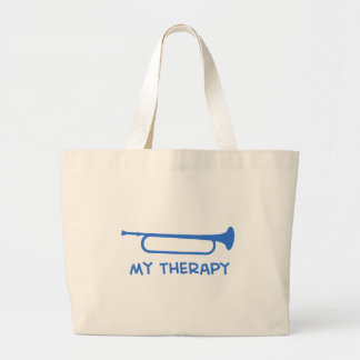 Bugle my therapy tote bag