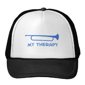 Bugle my therapy trucker hat