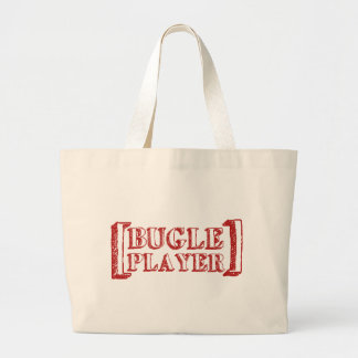Bugle Player Canvas Bags