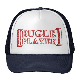 Bugle Player Trucker Hat