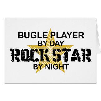 Bugle Player Rock Star by Night Card