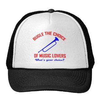 bugle the choice of music trucker hat