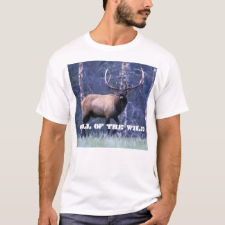 Bugleing Elk 4, Call of the Wild T-Shirt