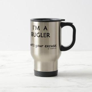 Bugler Excuse Travel Mug