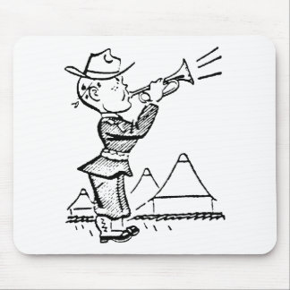 Bugler Mouse Pad