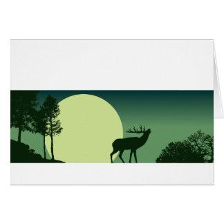 Bugling Roosevelt Elk Notecard