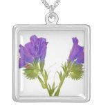 Bugloss púrpura de las víboras (plantagineum del e colgantes personalizados