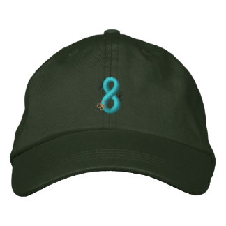 Bugs 8 embroidered hat