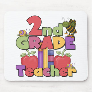 Bugs and Apples 2nd Grade Mouse Pad