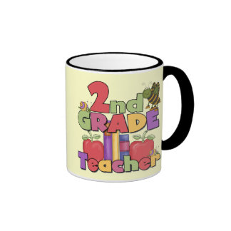 Bugs and Apples 2nd Grade Tshirts and gifts Mugs