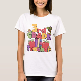 Bugs and Apples 3rd Grade Tshirts and Gift